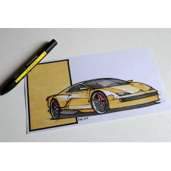 Croquis Ferrari