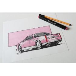 Croquis Cadillac