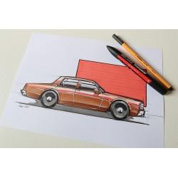 Croquis Chevrolet