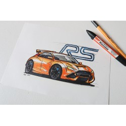 Croquis Ford RS