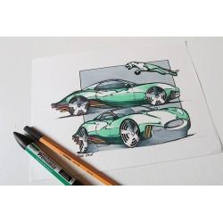 Croquis Jaguar