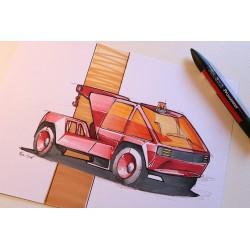 croquis concept car
