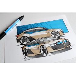 croquis BMW