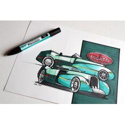 Croquis Bugatti