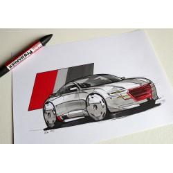 croquis Audi