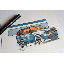 croquis Citroën