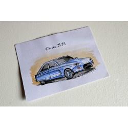 aquarelle Citroën