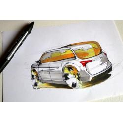 Croquis Fiat