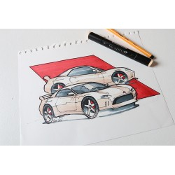 Croquis Mitsubishi