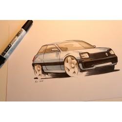Croquis Renault