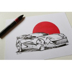Croquis Toyota