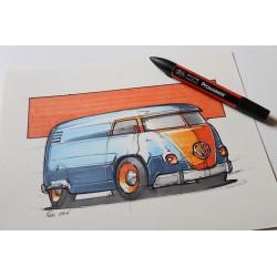 Croquis Volkswagen