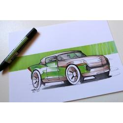 Croquis de Cadillac