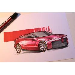 croquis Alfa Romeo